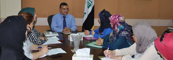 Director General of the Public Health Directorate meet representatives from the Primary Health Care Department