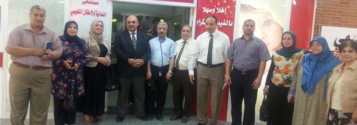 Possession of child-friendly hospital title in Baghdad and Diwaniyah