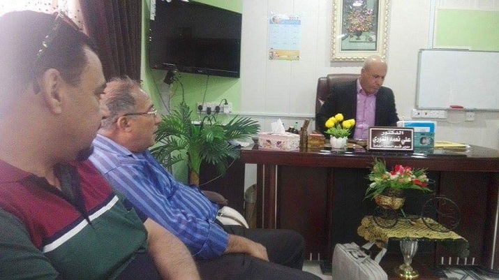 Deputy of Director General of Public Health Directorate meet the Iranian delegation