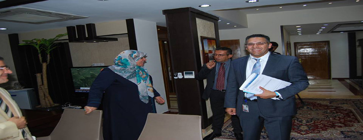 Minister of Health and Environment is discussing with WHO representative in Iraq, strengthen health cooperation between the two sides